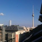 View from balcony - TV Tower