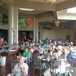 Beautiful open dining area