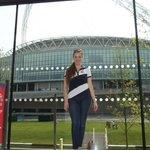 Vista de Wembley Stadium desde adentro del hotel