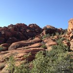 On a hike in Snow Canyon