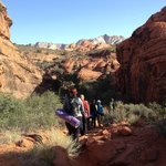 A view on the meditation hike in Snow Canyon