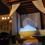 Roof hot tub