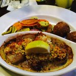 Parmesan crusted pan seared day boat scallops Pic by Keisha Brooks-Allen