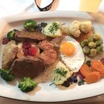 "Highly satisfied with this mixed grill ""Zauner's star""!!! ����"