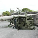 "M1905 6"" Gun on Buffington-Crozier disappearing gun carriage"