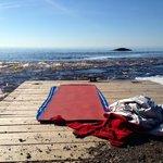 morning yoga by the lake at Lutsen