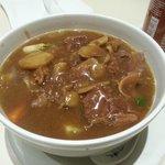 Beef brisket noodle soup