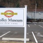 the Trolley Museum in Kingston