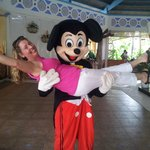 Mickey in Cuba!! Lobby
