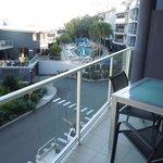 Apartments have spacious balconies