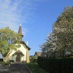 葬儀を執り行った教会