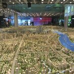 Scale model of Shanghai