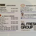 Members Al Fresco's group
