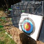 My partners archery skills