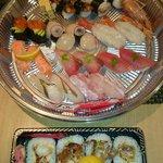 Nigiri sushi & spider rolls