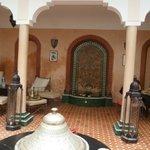 breakfast area, pure Moroccan style