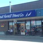 In front of Great Harvest Bread Co