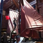 The last sailing vessel to work out of Grimsby