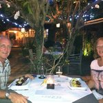 Dinner in the Pearl French Restaurant gardens
