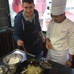 Frying the rolls
