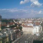 View of Zagreb from Zagreb's Eye