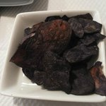 Chips di patate vitelotte