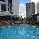 Pool Area on the 5th Floor