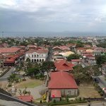 view from the belfry's rooftop