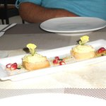 Complimentary hors d'oeuvres