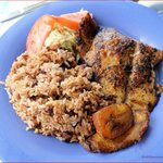 Blackened Snapper with Rice