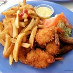 Coconut Shrimp and Fries
