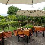 B&B Villa Maria Giovanna - colazione in giardino