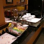 Breakfast buffet - drinks
