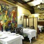Comedor 2, decoración sin actualizar, old decoration, dekorazio berriztu gabearekin.