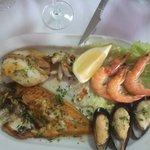 Mmmm fish platter