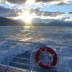 retour en bateau