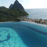 Infinity pool with a view