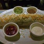 Burrito pequeño de carne de res molida