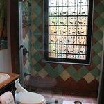 Open air bathroom (window)