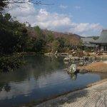 Lake in Sogenchi Garden