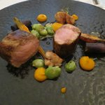 Art on a plate...veal