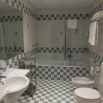 Our spotless bathroom