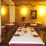 restaurante do hotel Al Pelmo-Pieve di Cadore, Itália