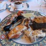 Karen's seafood platter