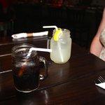 Lemonade and Pepsi