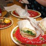 Cuban & Roast Pork Sandwich