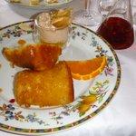 Rhum baba dessert