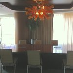 Conference/dining room in our suite