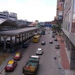 CIQ and train station
