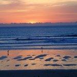 Fistral beach sunset